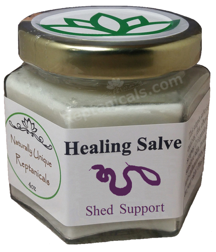 Reptanicals Healing Salve Shed Support Snakes Lizards