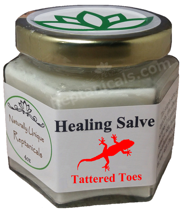 Reptanicals Tattered Toes Healing Salve